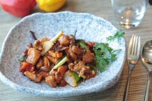 Delicious hot chicken recipe