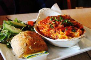 Italian lasagna, oven dish